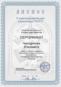 Чильдинова Елизавета_Сертификат_