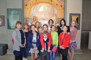 Посещение международной фотовыставки «Патриарх. Служение Богу, Церкви, людям».