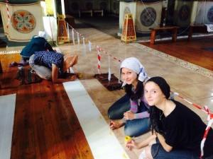 Восстановление росписи Свято-Троицкого храма